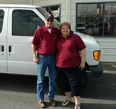 Gary and Toni of Spokane Glass Centers