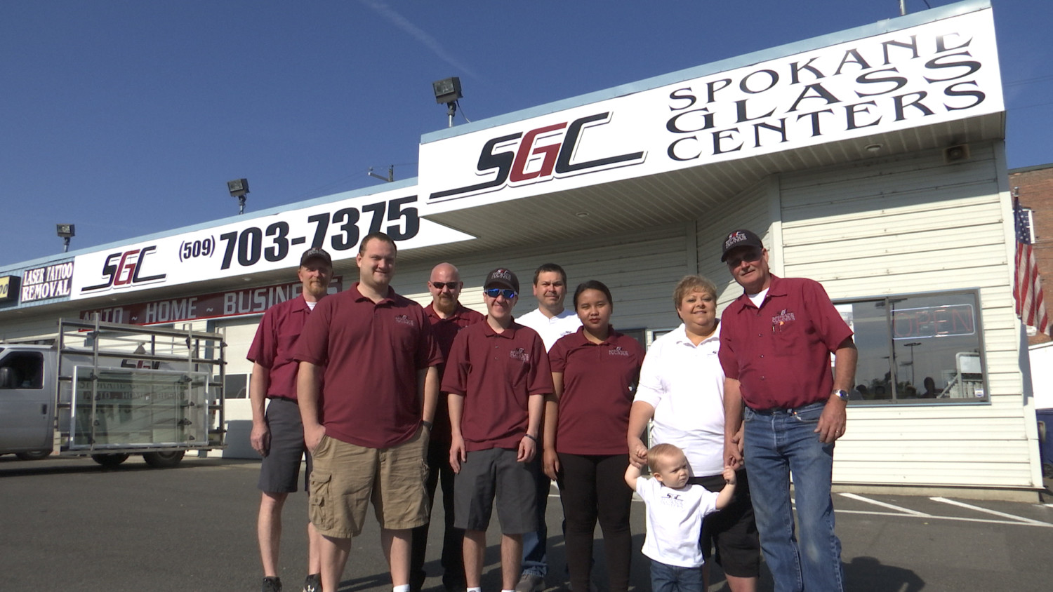 Spokane Glass Centers Staff